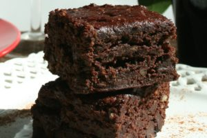 healthy vegan brownies 1