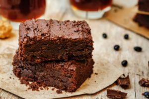 healthy vegan brownies 4