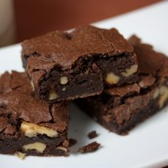 halthy vegan brownies