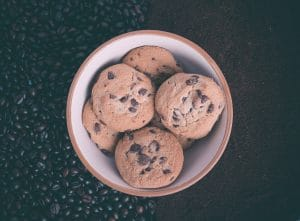 vegan chocolate chip cookies 3