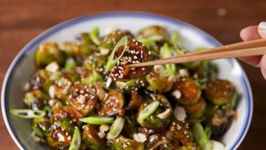 Kung Pao Brussels Sprouts (1)