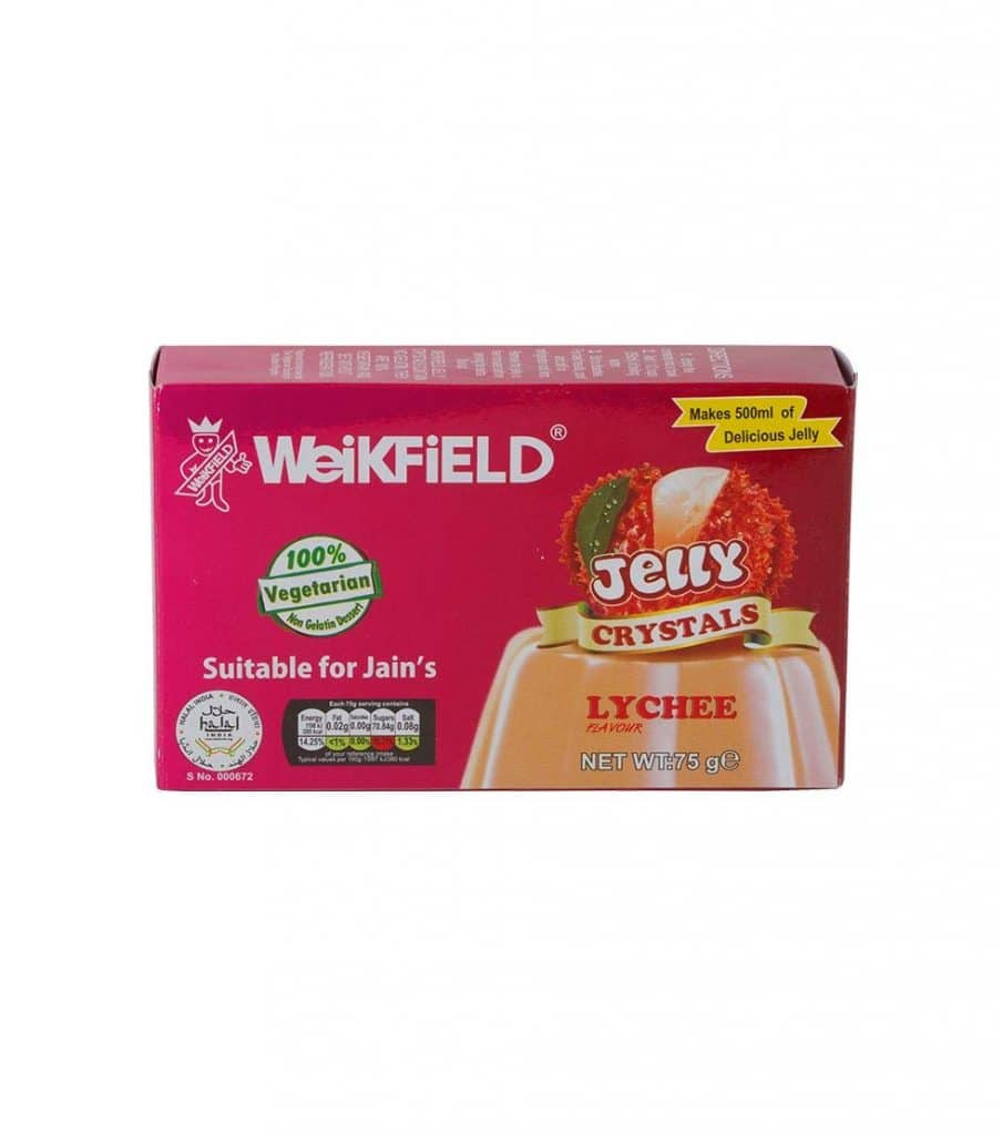 Weikfield Lychee Jelly Crystals