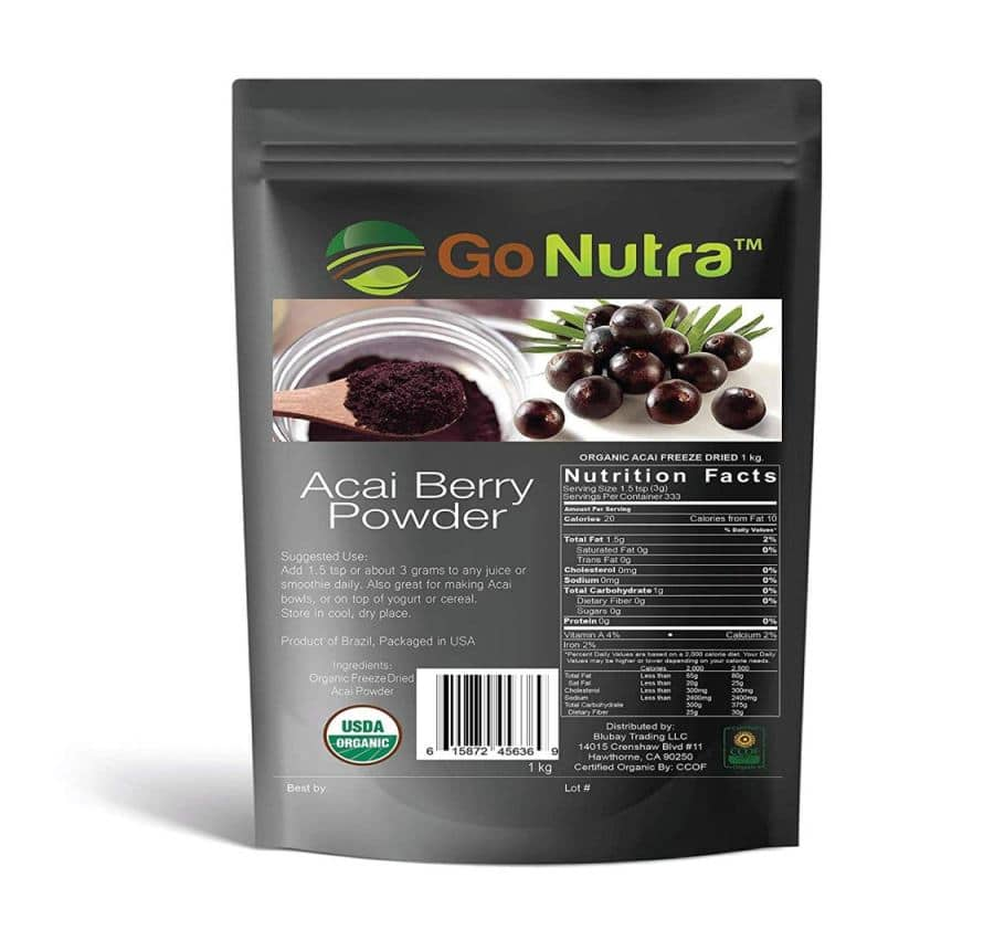 Go Nutra Acai Berry Powder
