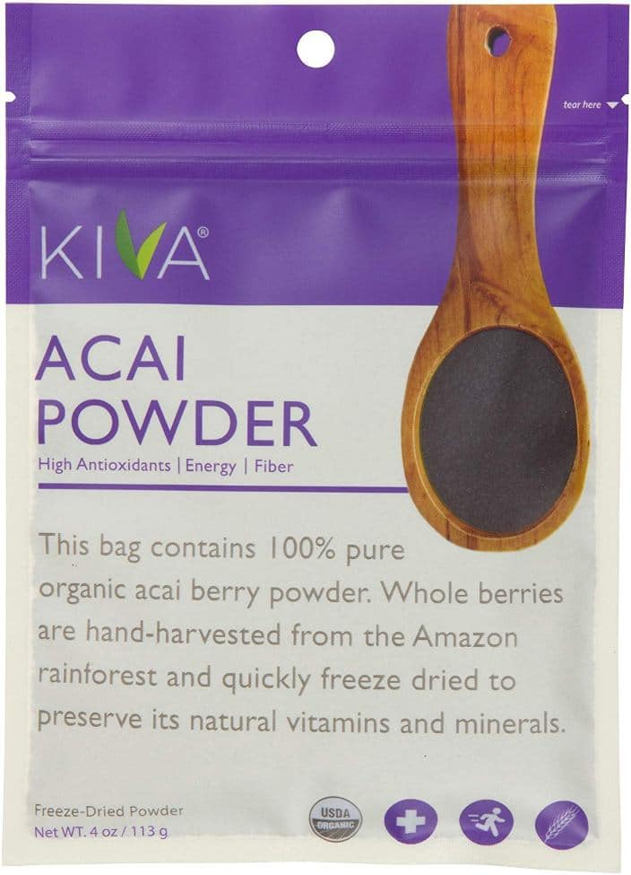 Kiva Organic Acai Berry Powder
