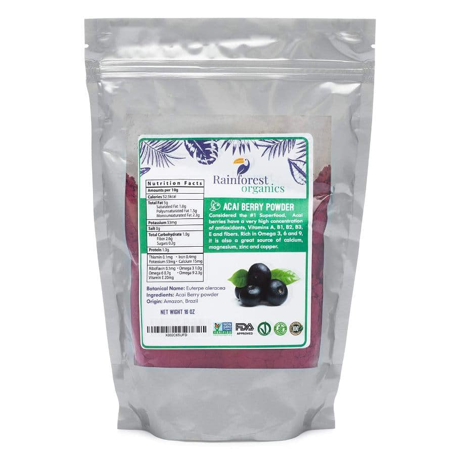 Rainforest Organics Acai Berry Powder