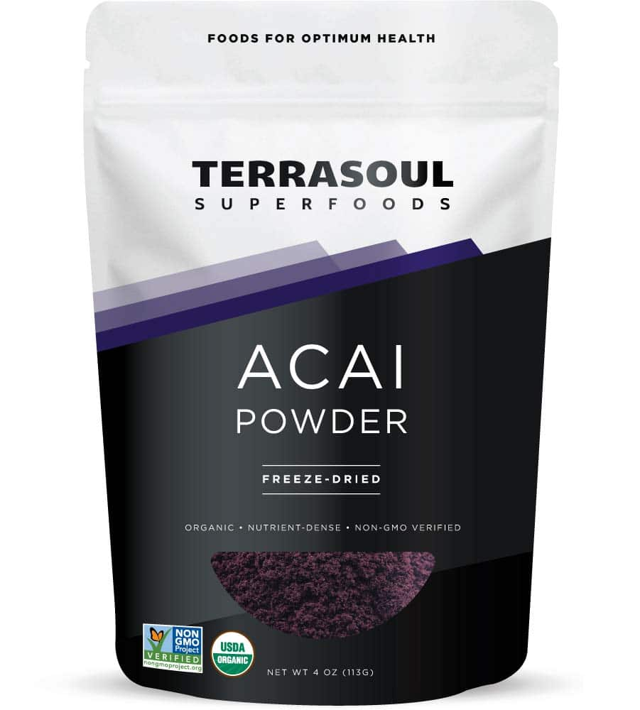 Terrasoul Superfoods Organic Acai Berry Powder