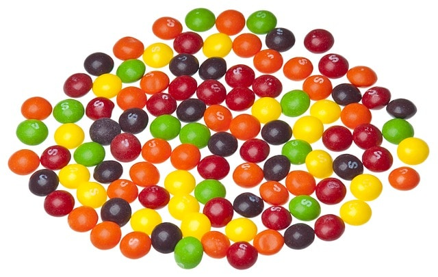 skittles-vegan candies