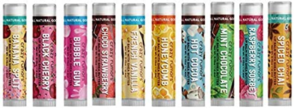 7. Crazy Rumors Lip Balms