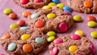 chocolate-smartie-cookies