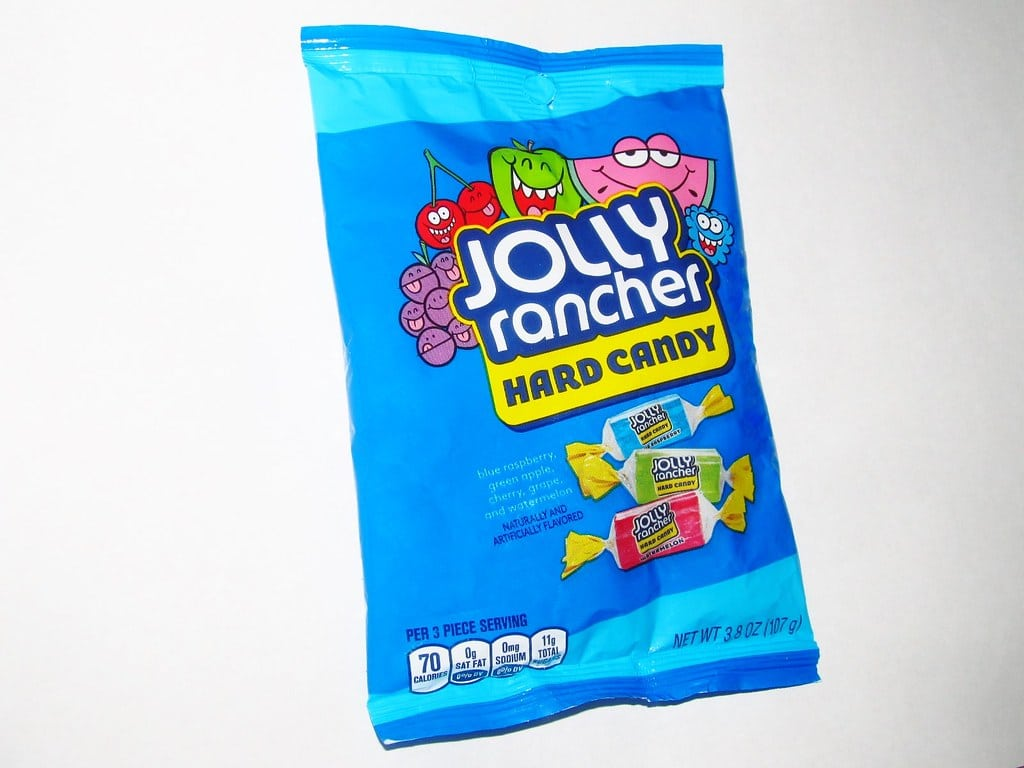 vegan hard candy Jolly Ranchers