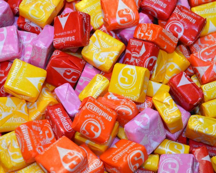 starbursts candies
