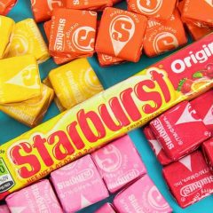 are starbursts vegan